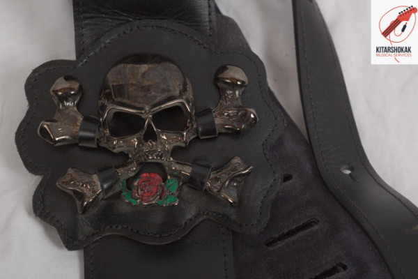 Correas Bourbon Strap Guitar. Leather Handmaded. Nuevas. Medidas dentro.
