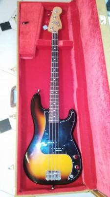 Vendo o cambio Fender Precission MIM  pastilla SPB2 Seymour Duncan 2001 . 590 e . Barcelona