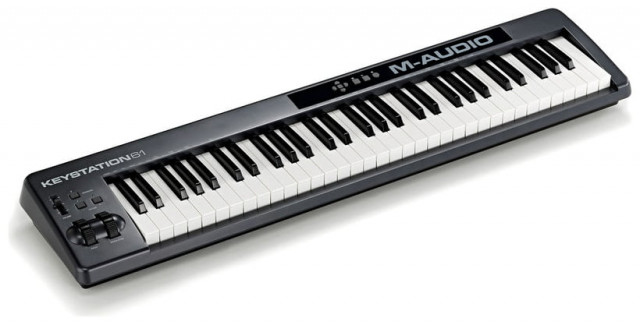 TECLADO MIDI M-AUDIO KEYSTATION 61