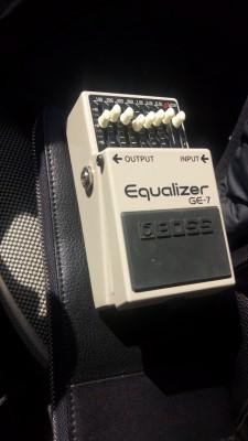 Pedal equalizador BOSS GE-7
