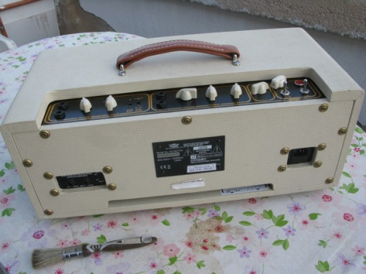 Vendo cabezal VOX AC15 heritage handwire