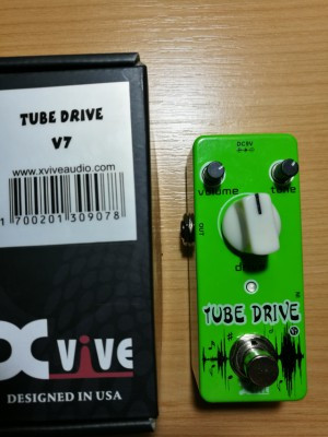 CAMBIO: Xvive Tube driver No es clon de Tube screamer