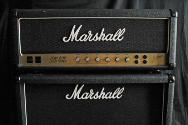 (o cambio) Marshall JCM800 Lead Series 1987 (1982)