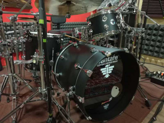 Batería santafé Drums ABD Series Abedul Custom 22″-12″-16″