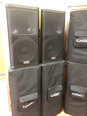 Vendo cajas auto-amplificadas de Demo QSC KW Y KS