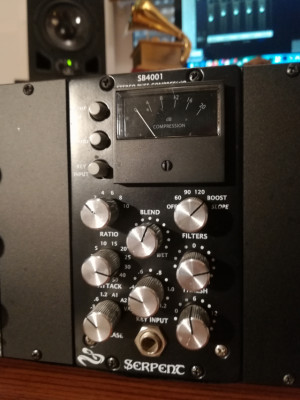 Compresor Stereo Serpent Audio SB4001