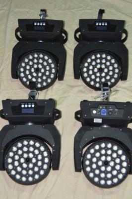 CABEZA MOVIL LED WASH RGBW 36X12W Y ZOOM 10-60