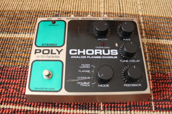 (ó cambio) EHX Poly Chorus