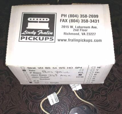 O cambio Pickups Lindy Fralin USA Fender Telecaster