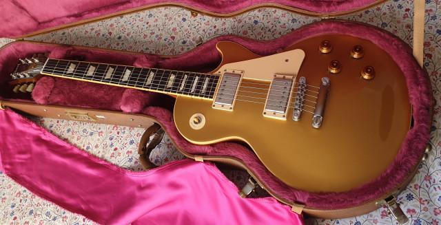 Gibson Les Paul Standard Goldtop 2009
