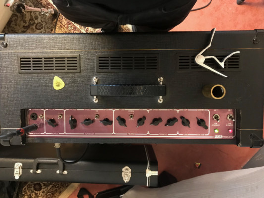 Amplificador Vox AC-30 CCH + Pantalla 2x12 Vox Blue Alnico 50th Anniversary