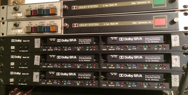 Dolby SR/A Model 363