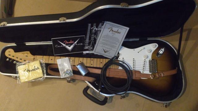 Fender Custom Shop Ltd. Ed. Master Built Dennis Galuszka Stratocaster '54 Closet Classic 2 Tone Sunburst