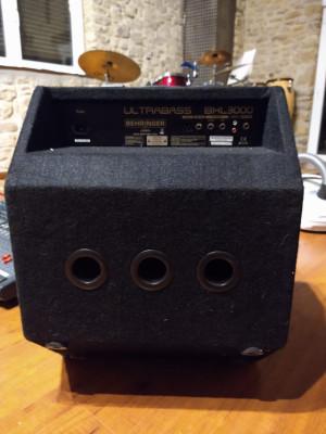 Amp de bajo ULTRABASS BHL 3000 BEHRINGER