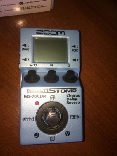 Zoom MS-70 CDR + Host midi USB