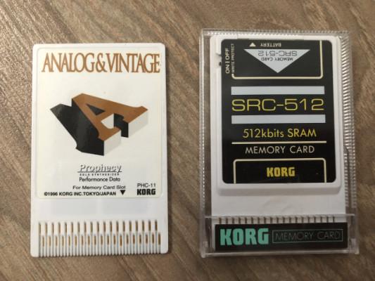 Tarjeta para Korg Prophecy y Memory card Korg