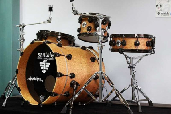 Batería santafé Drums Nature Custom Arce