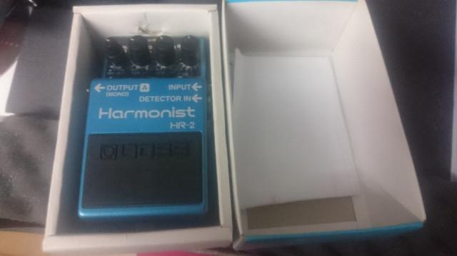 BOSS HR-2 harmoizador