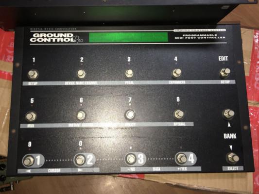 pedalera Midi Voodoo Lab Ground Control Pro