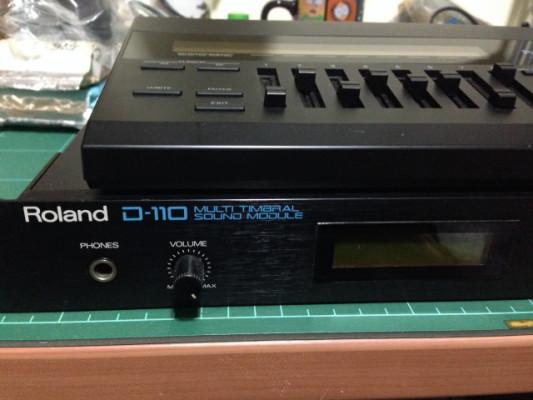 Roland D110 + programador PG10 + tarjeta Rom PN-D10-02