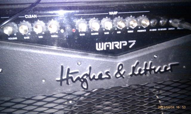 Vendo Hughes & Kettner Warp7 112 * Nuevos videos *
