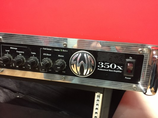 SWR 350 X (cabezal de bajo)