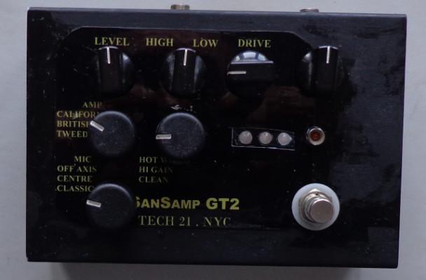 / Cambio Clon del pedal Sansamp GT2.