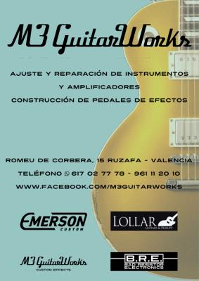 Luthier en Valencia (Ruzafa)