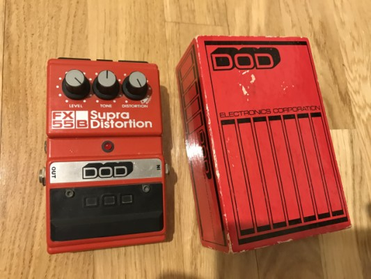 Pedal distorsión DOD FX55B. Made in USA