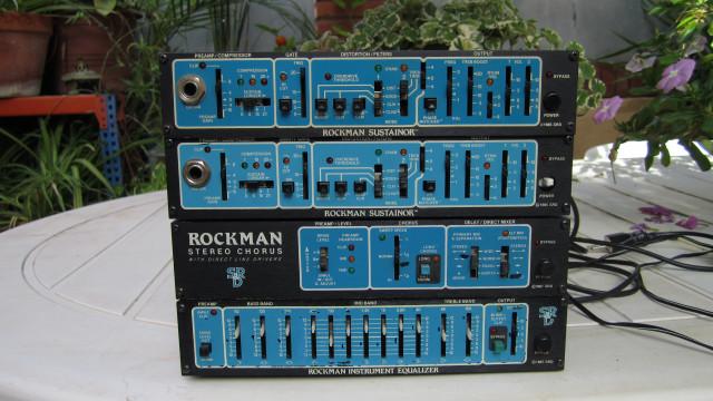 Rockman Sustainor preamp (model 200), Equalizer y Stereo Chorus