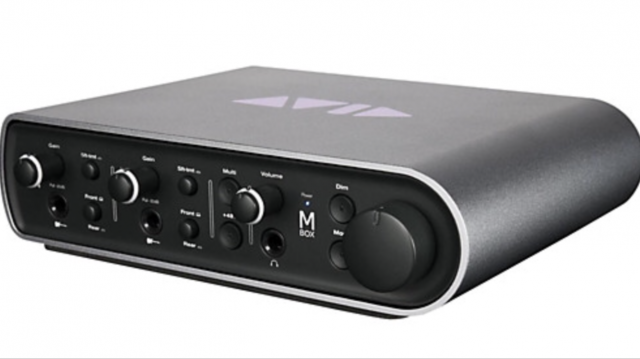 Gran interfaz de audio Mbox3