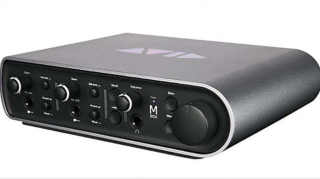 Gran Interfaz de audio Mbox 3