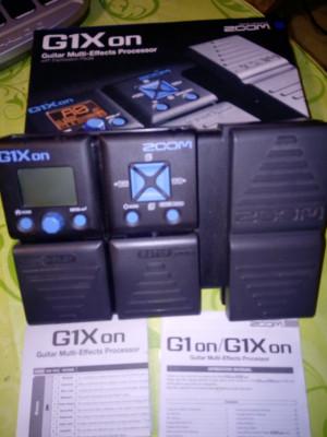 Pedal zoom G1xon