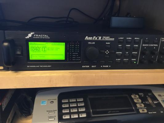 FRACTAL AUDIO AXE FX II - REBAJADO-VENDIDO