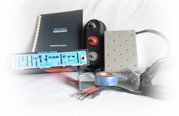 Rockman Sustainor (USA) procesador analógico de guitarra
