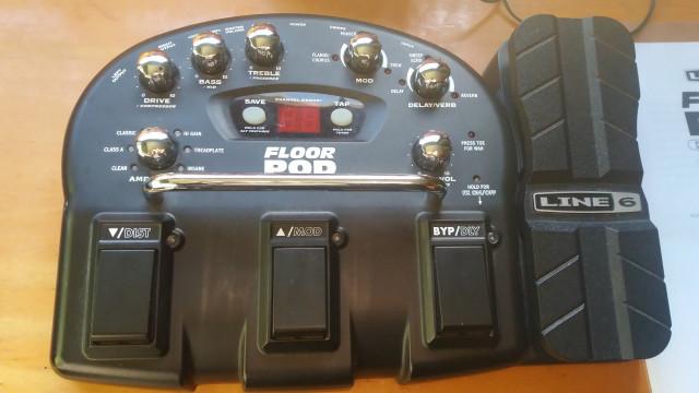 Floor Pod Line 6 Lo vendo también