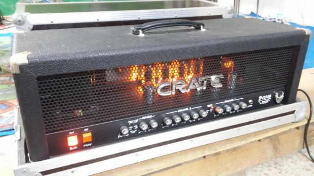 Cabezal a valvulas Crate Bv120H + Flightcase