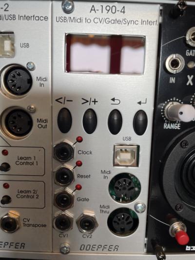 Modulo eurorack Doepfer A-190-4