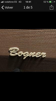 Bogner ecstasy y pantalla bogner 4x12