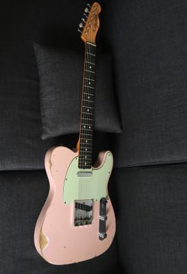 Fender Telecaster 63 Masterbuilt Yuriy Shishkov Shell pink relic