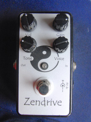 Overdrive Hermida Zendrive, no reissue Lovepedal
