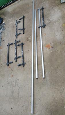 Varas dobles con anclaje o alargadoras de truss