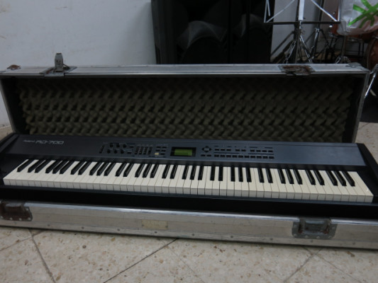Roland RD700 + SRX 12 + FLIGHT CASE