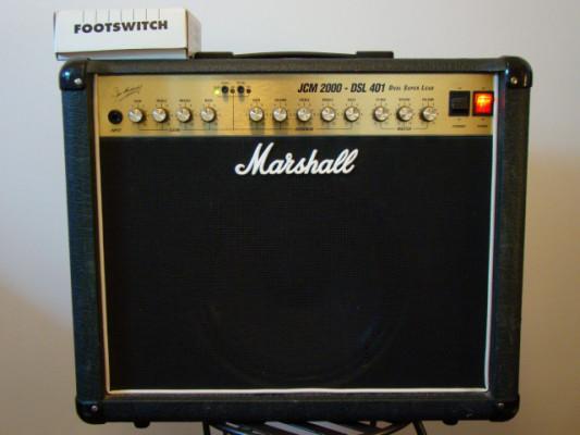 marshall dsl 401 Jim marsall valvulas 40watt