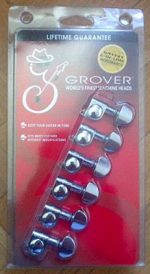 Clavijero en línea Grover Mini Rotomatic 205C6