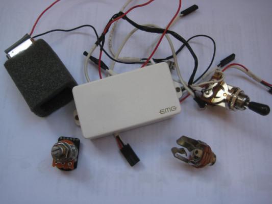 : CAMBIO Pastilla Activa EMG 85 por Pasiva cañera