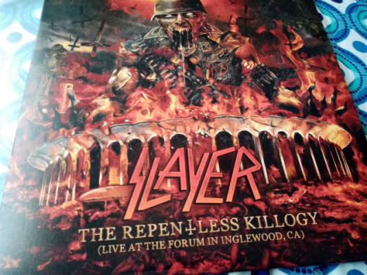 2lp Slayer repentless killogy