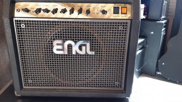 Amplificador guitarra ENGL Screamer Combo