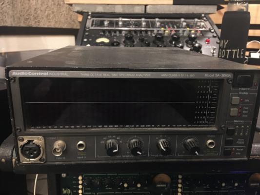 Audio Control SA 3050 Analizador de espectro profesional