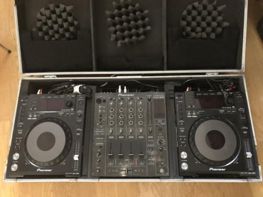 Pioneer CDJ 850K + DJM 800